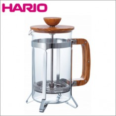 HARIO CafePress Olive Wood for 4 cups 600ml
